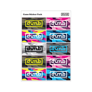 Dumb® Stickers - Camo