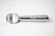 Happy Holidays Engraved Scoop