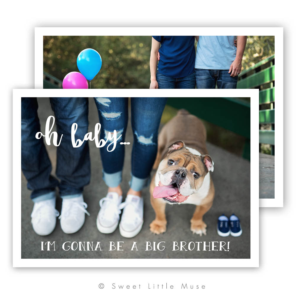 Clean Pregnancy Announcement Template Sweet Little Muse