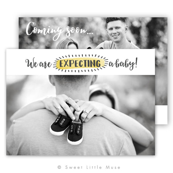 Pregnancy Announcement Template