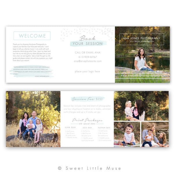 Accordian Template - Trifold Brochure