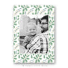Christmas Card  Template Mistletoe