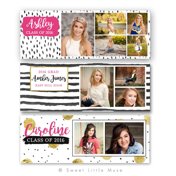 Senior Grad Facebook Timeline Bundle