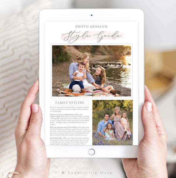 Templates For Photographers Sweet Little Muse
