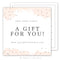 Watercolor Gift Card Template