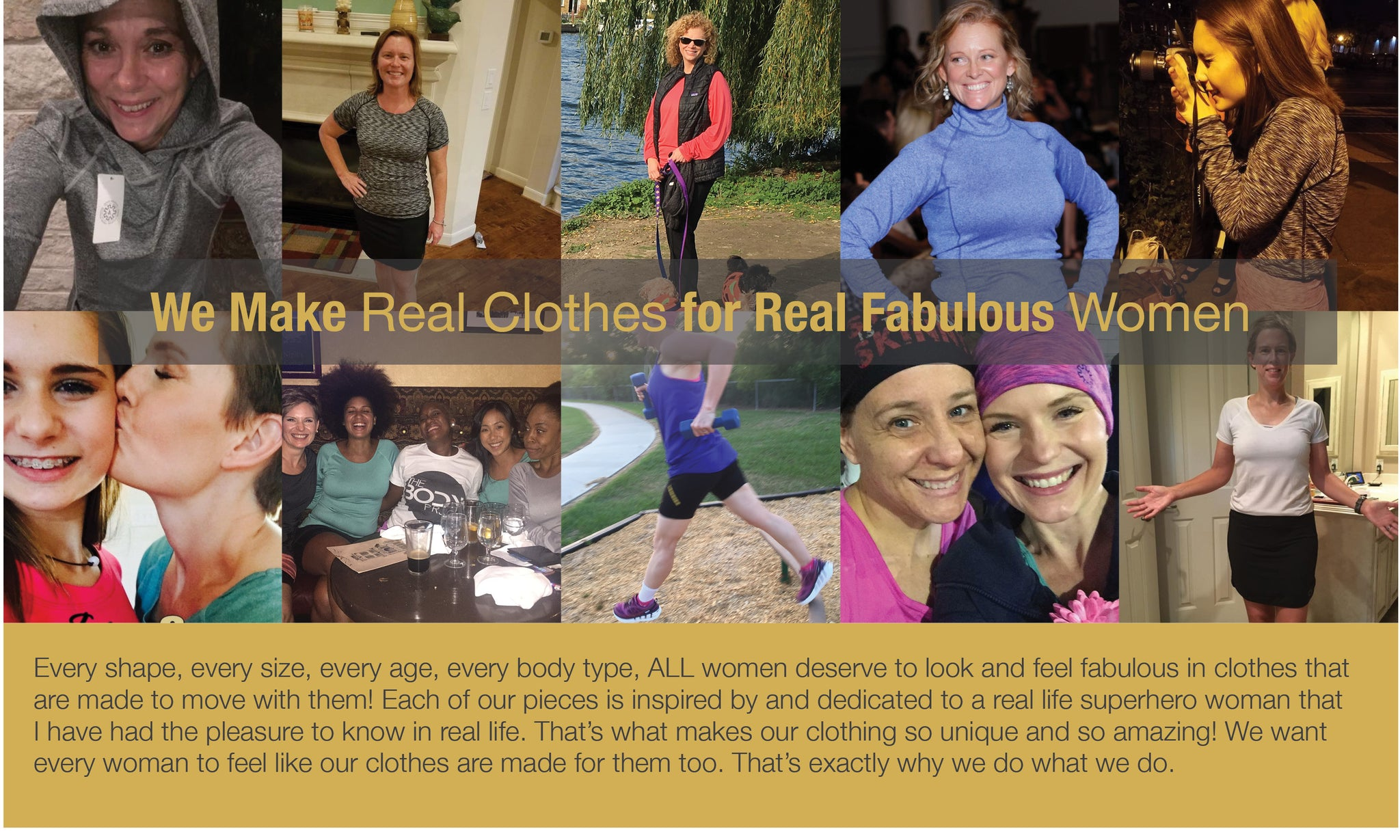 Joules Athletics makes real clothes for real fabulous women