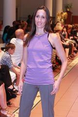 The Carolyn Tank by Joules athletics at New York Fashion Week
