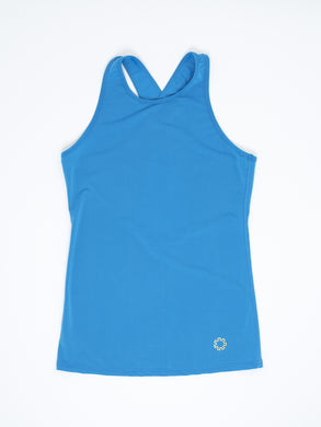 Super silky moisture wicking tank top for training in hot climates.