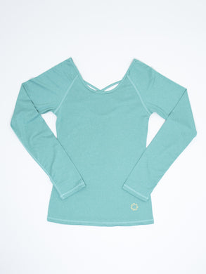 This women's athletic top is perfect as a base layer or wearing out and about.