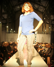 The Lisa Top by Joules athletics at New York Fashion Week