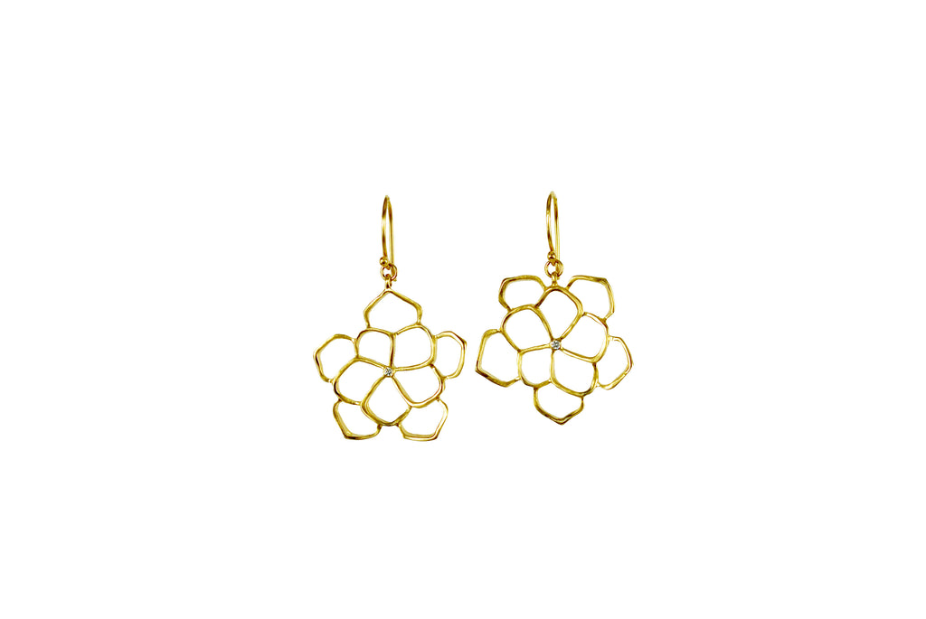 Fleur Camelia earrings
