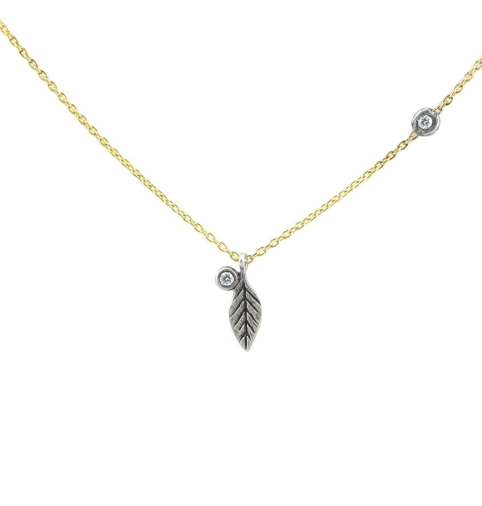 Feather Twinkle Pendant