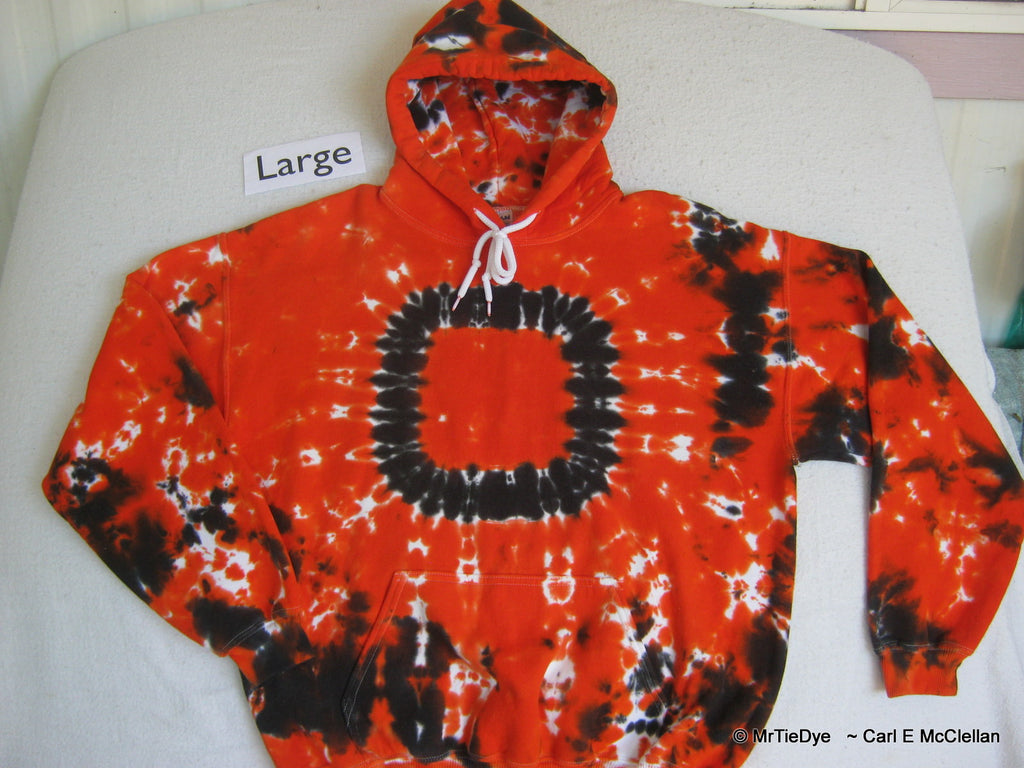 Adult Large Tie-Dyed pull over Hoodie                                                                            234