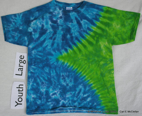 Youth Large Tie-Dye V Tee