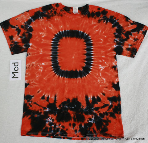 Adult Medium Tie-Dye Beaver 'O' tee #2
