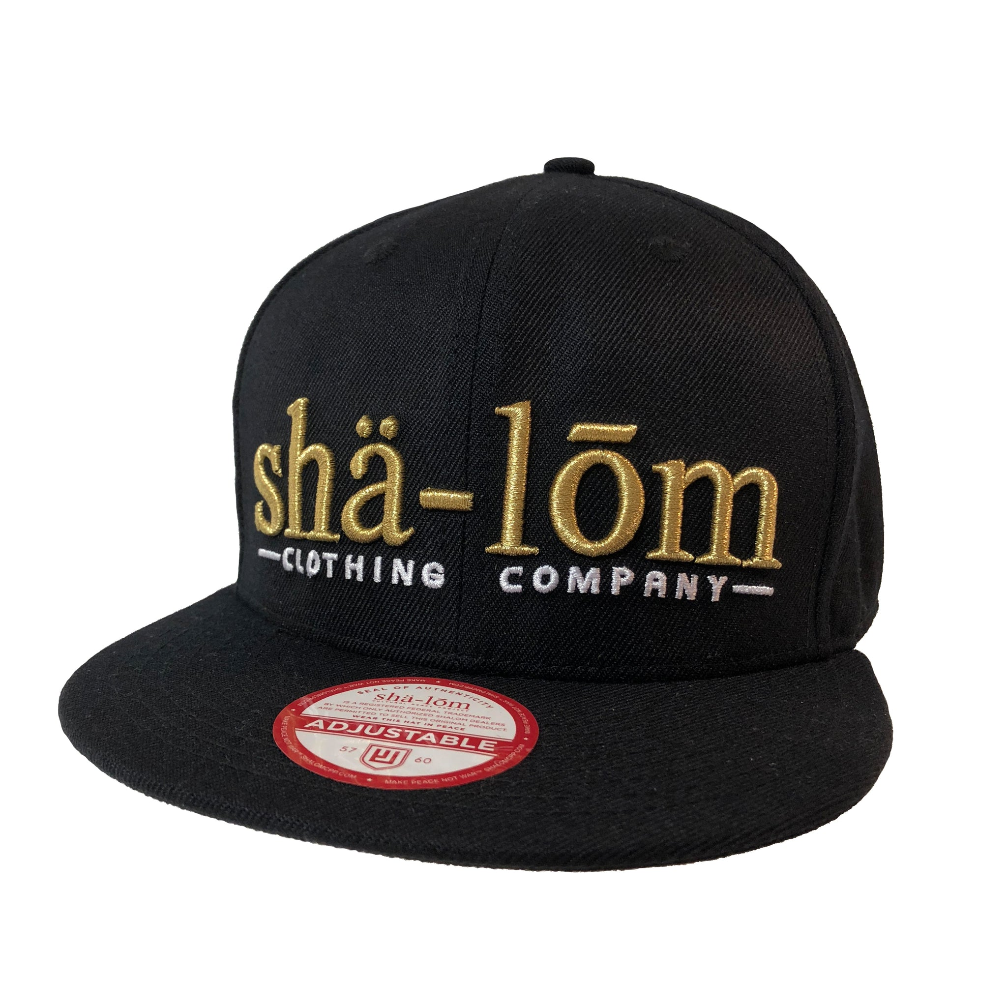 Definition Snap Back Gold Black – Shalom Clothing 2cb09ca32