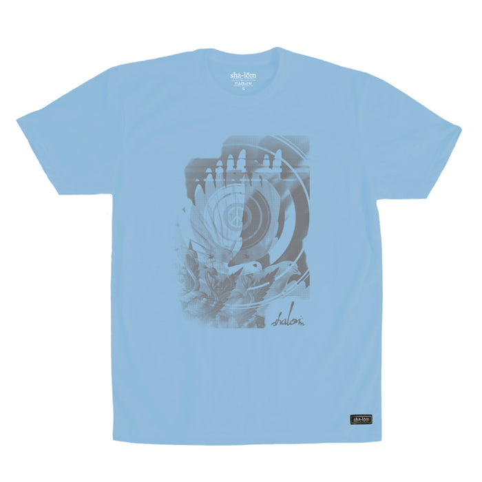 DOVE EYE TEE BLUE