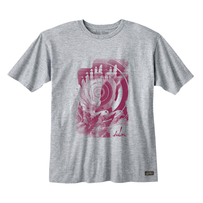 DOVE EYE TEE HEATHER