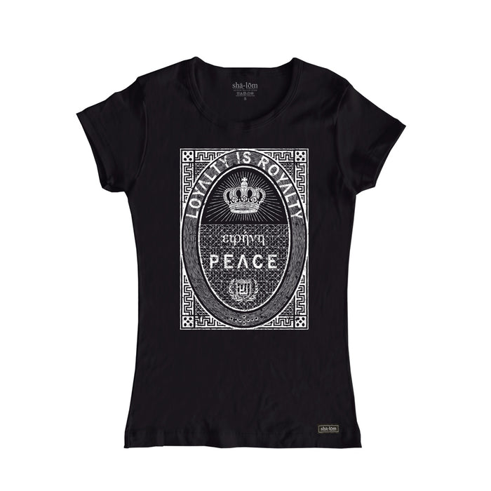 Loyalty is Royalty Womens Black