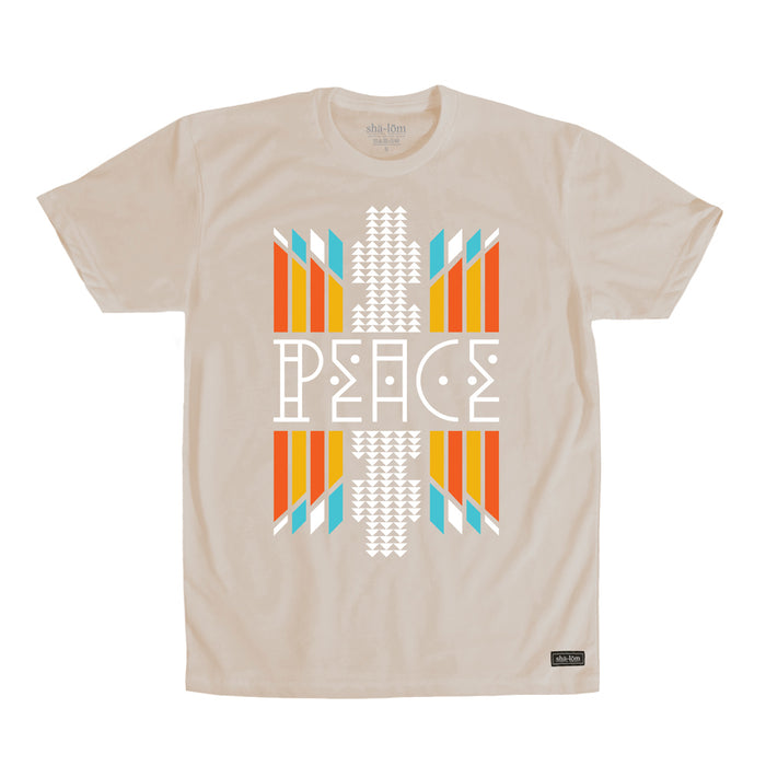 Peace Natives Tee Sand