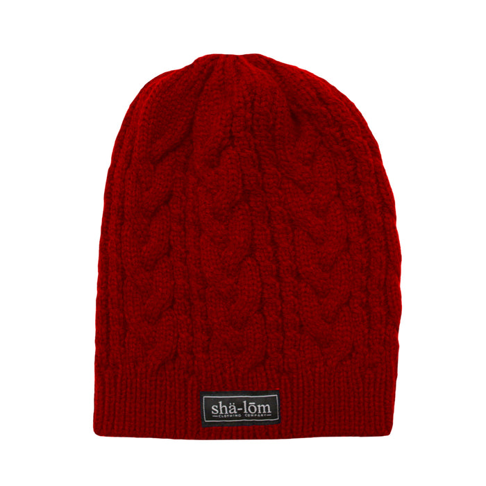 Womens Definition Beanie Red