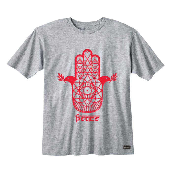 HAMSA TEE HEATHER