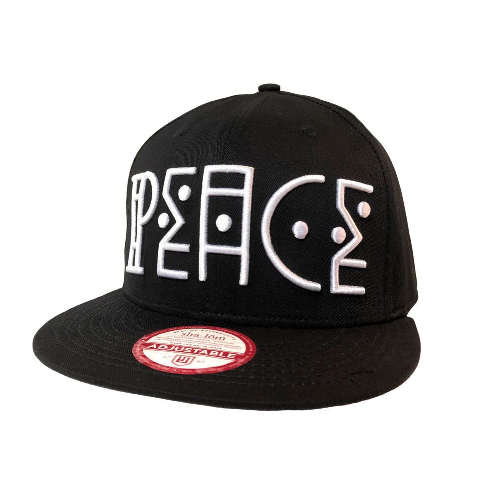 Peace Natives Snap Back Black