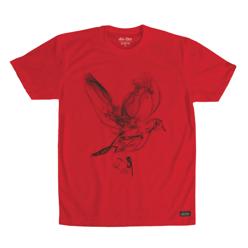 Smoke Dove Mens Tee Red