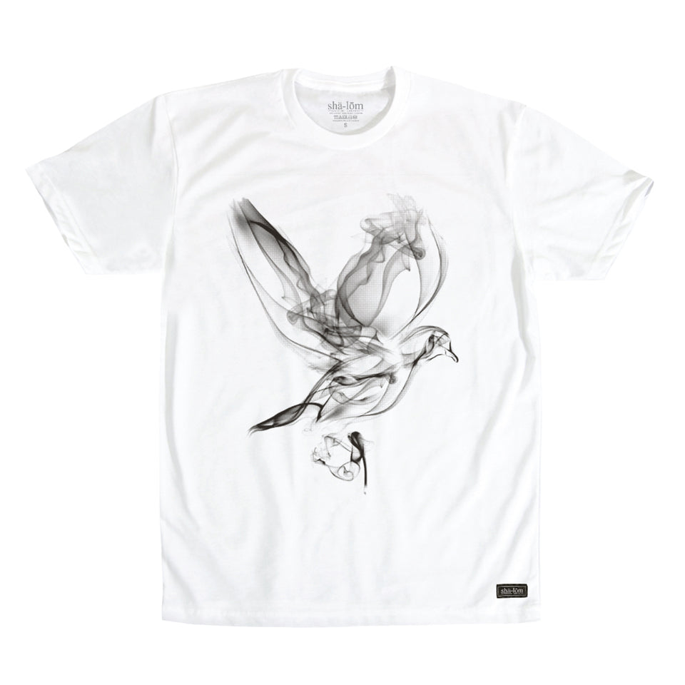 Smoke Dove Mens Tee White