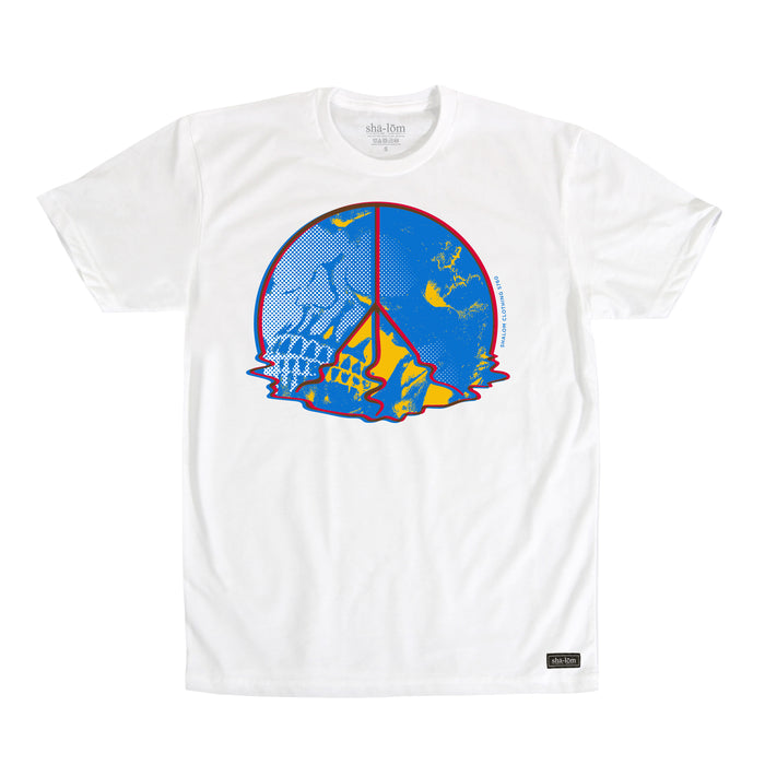 Melting Peace Tee White