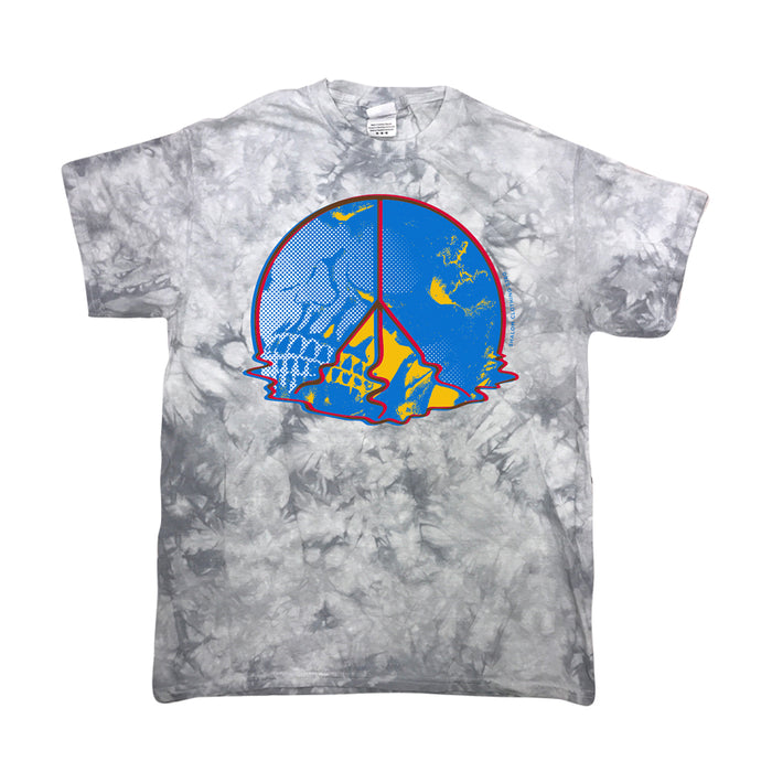 Melting Peace Tee Gray Wash