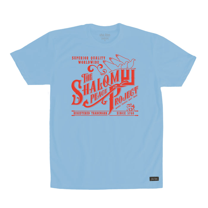 Shalom Peace Project Tee Blue