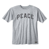 Shalom 5778 PEACE tee Heather