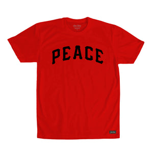 Shalom 5778 PEACE tee Red