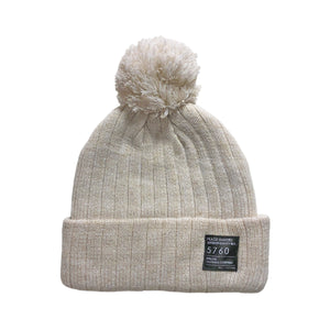 Peace Makers Beanie Oatmeal Heather