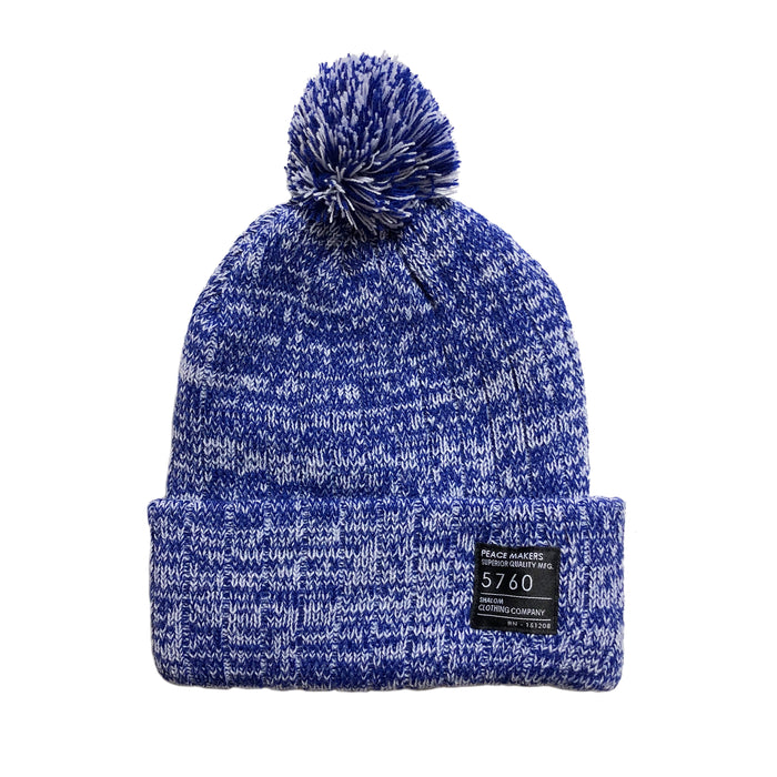Peace Makers Beanie Navy Heather