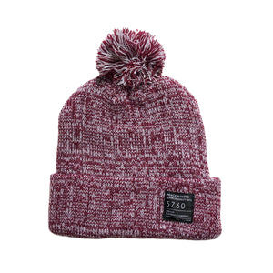 Peace Makers Beanie Red Heather