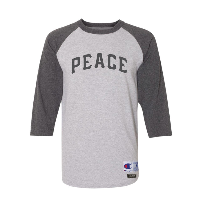 Champion PEACE Raglan Heather