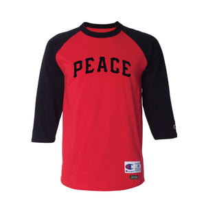 Champion PEACE Raglan Red