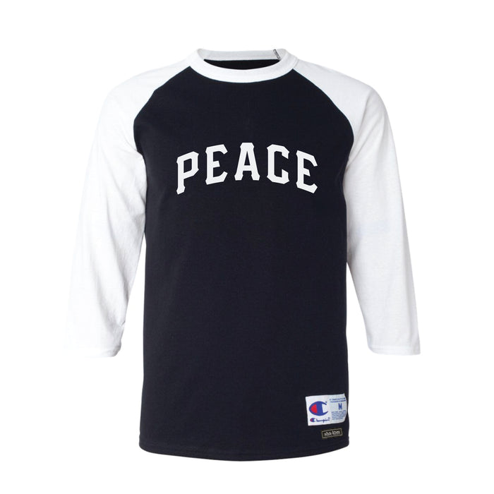 Champion PEACE Raglan Black