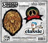 SHALOM CAMO STICKER SET