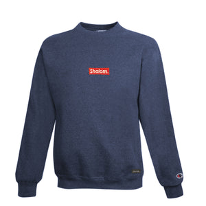 Champion Shalom Bar Crew Navy Heather