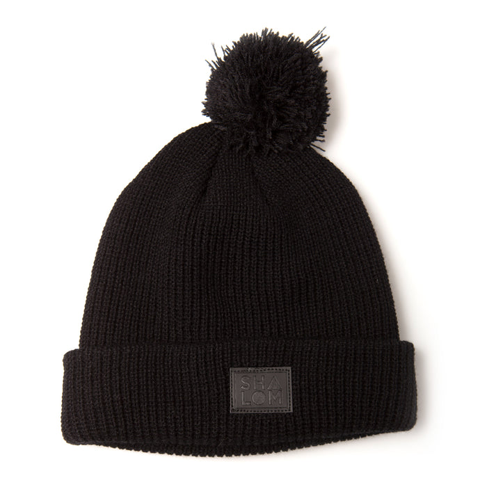 Shapes Beanie Black