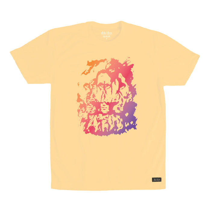 TRIPPY LION TEE LEMON