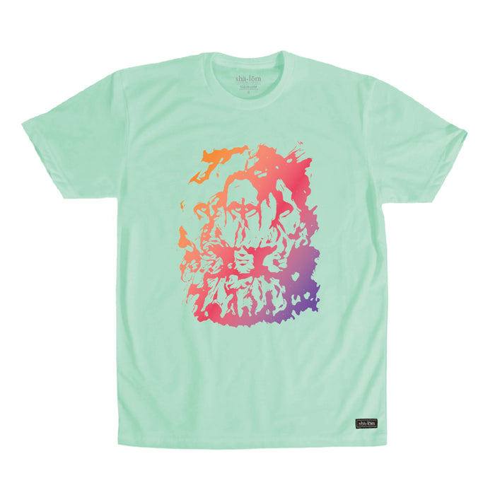 TRIPPY LION TEE MINT
