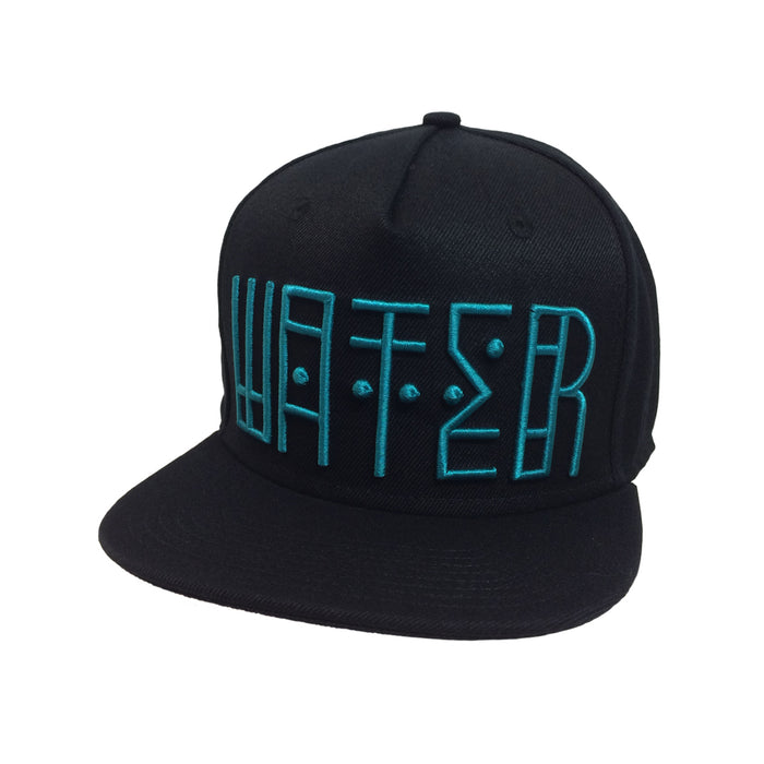 Water Snap Back Black