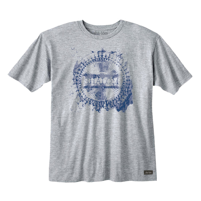 WET ANCHOR TEE HEATHER