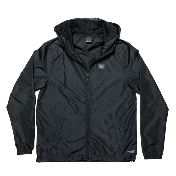 Lightweight Windbreaker Shapes Men's Black Jacket