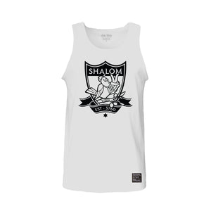 Crest Dove Tank Top White