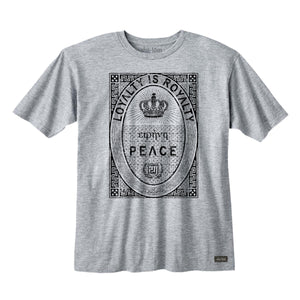 Loyalty is Royalty Tee Heather